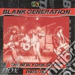 New york scene 1975-1978 - cd musicale di Generation) V.a.(blank