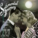 Sentimental journey vol.4 cd musicale di Artisti Vari