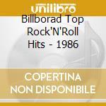 1986 - cd musicale di Billborad top rock'n'roll hits