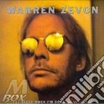 ANTHOLOGY-I'LL SLEEP WHEN I'M DEAD cd musicale di ZEVON WARREN