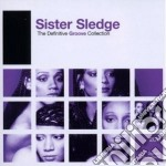 DEFINITIVE GROOVE : SISTER SLEDGE cd musicale di Sledge Sister