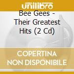 THE GREATEST HITS-THE RECORDS/2CD cd musicale di BEE GEES