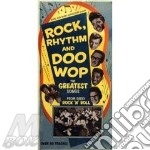 Rock, rhythm and doo wop - cofanetti cd musicale di L.richard/b.darin/r.nelson & o