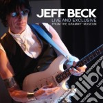 Live and exclusive from the grammy museum cd musicale di Jeff Beck