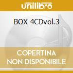 BOX 4CDvol.3 cd musicale di DOOP WOP
