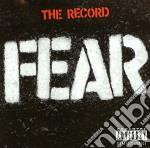 Record,the cd musicale di Fear