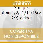 Son.per pf.nn:1/2/13/14/15(v. 2^)-gelber cd musicale di Beethoven