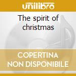 The spirit of christmas cd musicale di Ritz