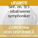 Sinf. nn. 9/3 - inbal/wiener symphoniker cd musicale di Shostakovich