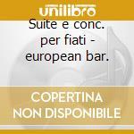 Suite e conc. per fiati - european bar. cd musicale di Telemann