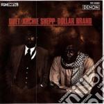 DUET cd musicale di ARCHIE SHEPP & DOLLAR BRAND
