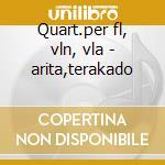 Quart.per fl, vln, vla - arita,terakado cd musicale di Telemann