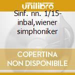 Sinf. nn. 1/15- inbal,wiener simphoniker cd musicale di Shostakovich