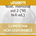 Nost. memorial vol 2 ('95 hi-fi ed.) cd musicale di Fats Navarro