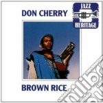 BROWN RICE cd musicale di Don Cherry