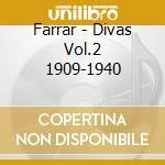 Divas vol.2 prima voce cd musicale di Artisti Vari