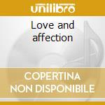Love and affection cd musicale di Pressure