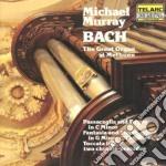 Murray Michael - Bach: The Great Organ At Methuen cd musicale di Bach