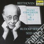 Conc.piano n.2 - n.4 cd musicale di Beethoven