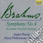 *sinf.n.4/ouv.accademica cd musicale di Johannes Brahms