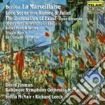 Berlioz - La Marseillaise  Love Scene From Romeo & Juliet  The Damnation Of Faust - David Zinman cd musicale di Hector Berlioz