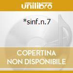 *sinf.n.7 cd musicale di Antonin Dvorak