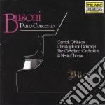 Piano concerto cd musicale di Busoni