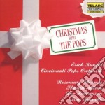 Christmas with pops cd musicale di Artisti Vari