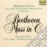 Messa in do elegia cd musicale di Beethoven