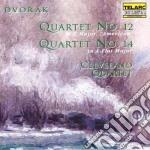 Quartet n.12 - n.14 cd musicale di Antonin Dvorak