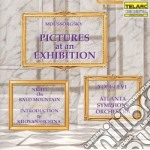 Pictures at an exhibition cd musicale di Mussorgsky