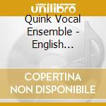 English madrigals cd musicale di Artisti Vari