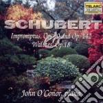 Impromtus op.90 op.142 walzer cd musicale di Franz Schubert