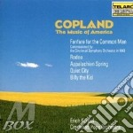 Music of america, the cd musicale di Copland