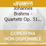 String quartets cd musicale di Johannes Brahms