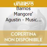 Music of barrios/david russel cd musicale di Mangore Barrios