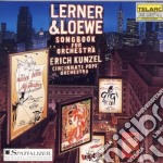 Lerner & loewe songbook for or cd musicale di Artisti Vari