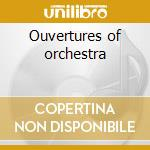 Ouvertures of orchestra cd musicale di Richard Wagner