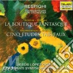 Transcriptions for orchestra cd musicale di Respighi