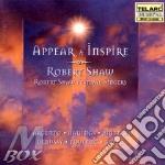 Appear & inspire cd musicale di Artisti Vari