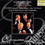 Corigliano/string quartet cd musicale di Haydn franz joseph