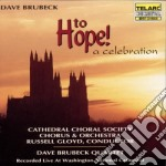 To hope a celebration - brubeck dave cd musicale di Dave Brubeck