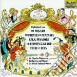 Best of gilbert & sullivan cd musicale di Gilbert & sullivan