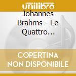 Symphony n.1-2-3-4 cd musicale di Johannes Brahms