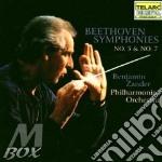 Symphony n.5,op.67 n.7,op.92 cd musicale di Beethoven ludwig van