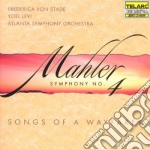 Symphony n.4/songs of wayfarer cd musicale di Mahler