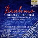 German requiem cd musicale di Johannes Brahms