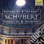 Scottish Chamber Orchestra / Mackerras Charles - Schubert: Sinfonie N. 8 & 9 cd musicale di Franz Schubert