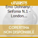 Symphony n.1 in d minor op.9 cd musicale di Dohnanyi