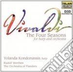 Four season x harp e orchestra cd musicale di Antonio Vivaldi